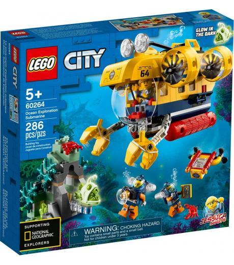 LEGO CITY OCEANSKA PRIESKUMNA PONORKA /60264/