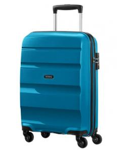 SAMSONITE AMERICAN TOURISTER 85A22001 BONAIR STRICT S 55 4WHEELS LUGGAGE SEAPORT BLUE