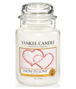 YANKEE CANDLE 1249712E SVIECKA SNOW IN LOVE/VELKA