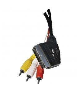 EMOS SD2101 KABEL SCART/M - 3RCA/M 1,5M