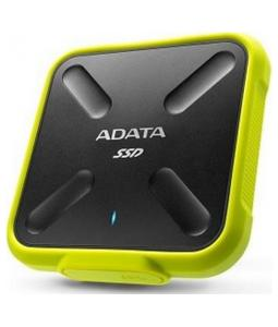 ADATA EXTERNAL SSD 256GB ASD700 SERIES IP68 CIERNO-ZLTY