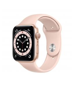 APPLE WATCH SERIES 6 GPS, 40MM GOLD ALUMINIUM CASE WITH PINK SAND SPORT BAND MG123VR/A
