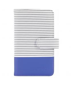 FUJIFILM INSTAX MINI STRIPED 9 ALBUM COBALT BLUE