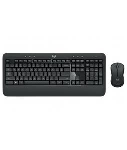 LOGITECH MK540 ADVANCED WIRELESS KEYBOARD AND MOUSE COMBO, BLACK, US, 920-008685