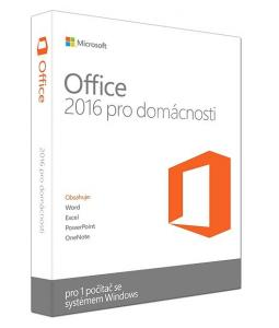 MICROSOFT OFFICE HOME AND STUDENT 2016 SK