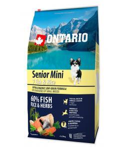 ONTARIO SENIOR MINI FISH & RICE(6,5KG)