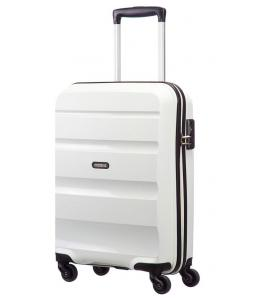 SAMSONITE AMERICAN TOURISTER SPINNER 85A05001 BONAIR STRICT S 55 4WHEELS, WHITE 85A-05-001