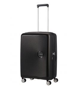 SAMSONITE AMERICAN TOURISTER SPINNER 32G09002 SOUNDBOX 67/24 TSA EXP JUST LUGGAGE, BASS BLACK