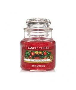 YANKEE CANDLE 1120699 SVIECKA RED APPLE WREATH/MALA