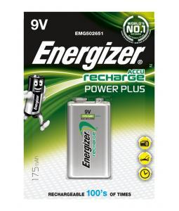 ENERGIZER HR 22 9V 175MAH, 1KS BLISTER