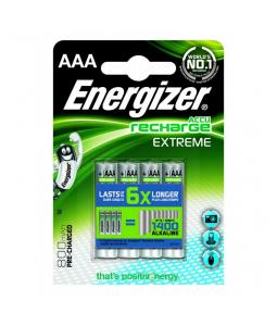 ENERGIZER RECHARGE EXTREME AAA HR03 800MAH, 4KS BLISTER
