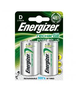 ENERGIZER POWER PLUS D HR20 2500MAH, 2KS BLISTER